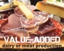 Small-Scale Commercial Value-Added Dairy or Meat Production